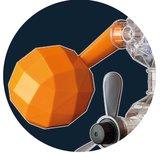 Capsela - INGEAR SPACE RACER Bouwset_