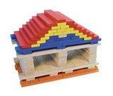 BATiBLOC-classic 100 natuurlijke gekleurde houten plankjes_