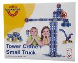 Volks Grote Torenkraan en Vrachtwagen_