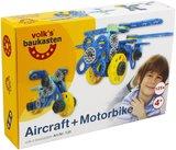 Volks Vliegtuig en Motorfiets_