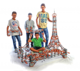Engino STEM - Architectuur Set_