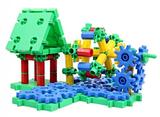 Tandwielen kleurrijk 320-delig STEM - Korbo_
