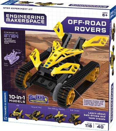 Off-Road Rover Engineering Makerspace