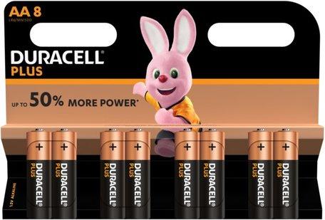 Duracell batterijen Duralock 8-pack AA