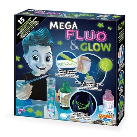 Mega Fluo & Glow 15 experimenten - Buki