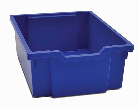 Gratnells opbergbox F2 Blauw met Deksel