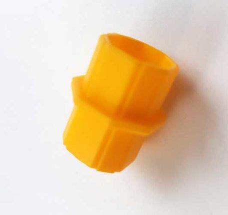 Korbo Koppelstukken Geel aanvulset 20-delig