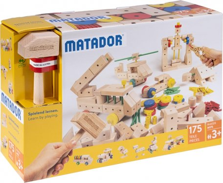 Matador Maker 3+ 175-delig Ki3