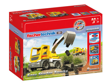 Fischertechnik JUNIOR EASY Starter Trucks