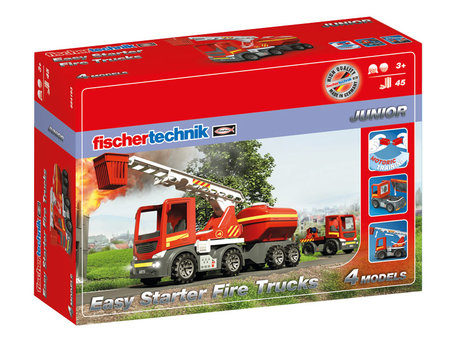 Fischertechnik JUNIOR EASY Starter Fire Trucks
