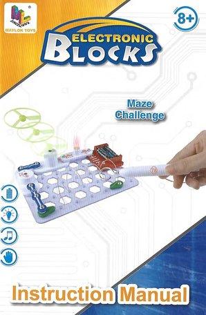 Elektrokit 12 experimenten Handleiding en Opdrachtenboek