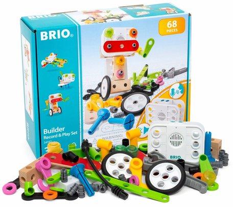 Brio Builder Opnemen en Afspelen Constructie 68-delig