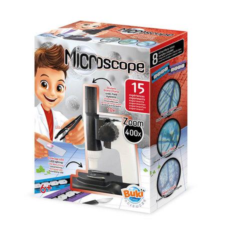 Microscoop met 15 experimenten - Buki