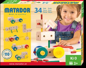 Matador Maker 3+ 34-delig Ki0
