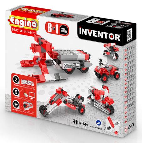 Engino INVENTOR Motoren 8 modellen