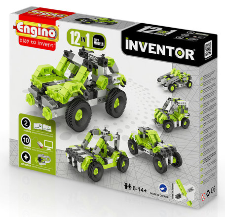 Engino INVENTOR Auto's 12 modellen