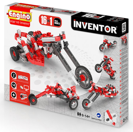 Engino INVENTOR Motoren 16 modellen