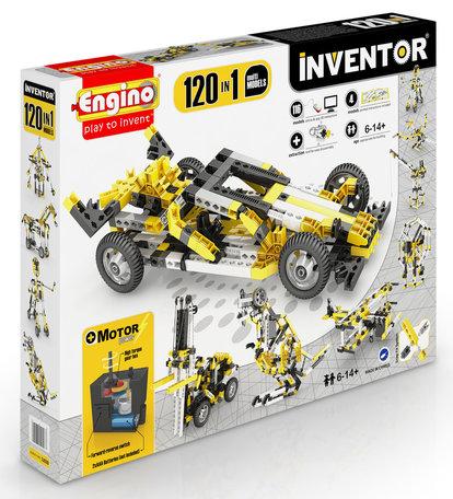 Engino INVENTOR Gemotoriseerd 120 modellen