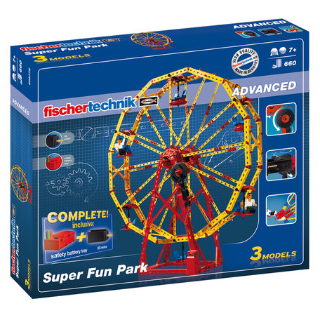 Fischertechnik ADVANCED Super Fun Park 508775