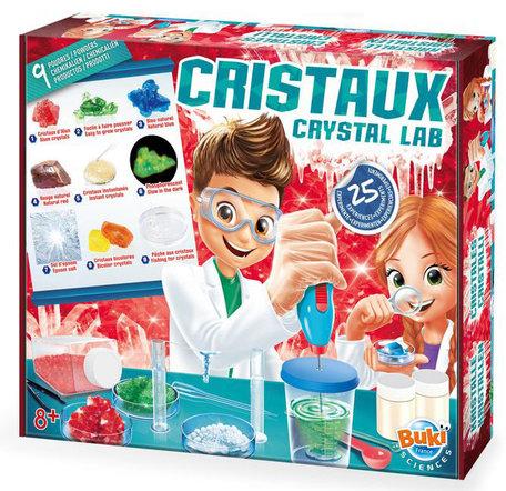 Kristallen lab 25 experimenten - Buki