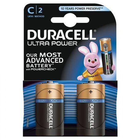 Duracell batterijen Duralock Ultra Power 2-pack C2