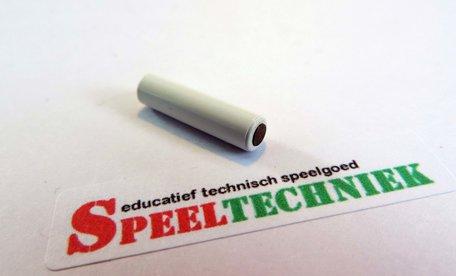 LASiE MINI onderdeel As magnetisch Wit 2 cm