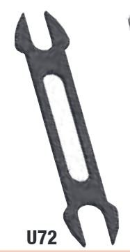 TheCoolTool Unimat Fork Wrench 7/4mm U71 / U72