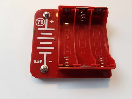 Spektro Batterijhouder Rood 70 4,5V (19)