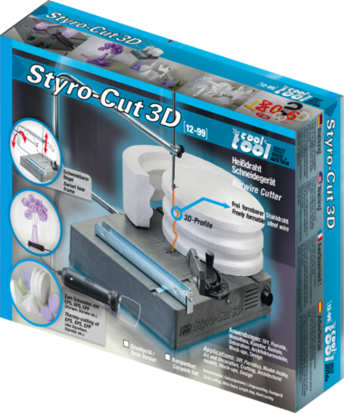 TheCoolTool StyroCut 3D Hardschuim snijder