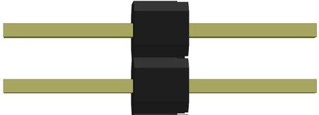Robotron J-58 2-pin verbinding