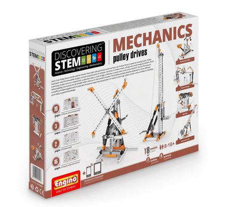 Engino STEM Mechanics - Katrollen