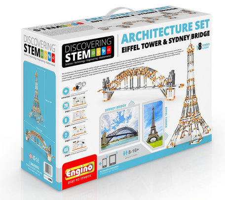 Engino STEM - Architectuur Set