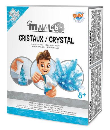 Mini Lab Kristallen (Blauw) - Buki