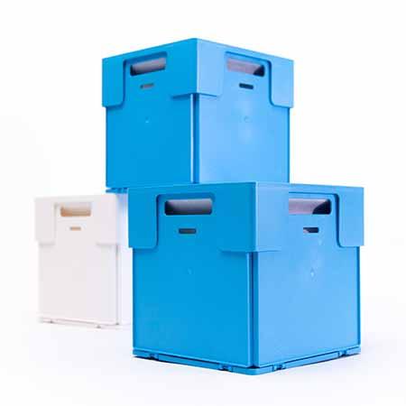 Box4All BLAUW Opberg- en sorteer doos
