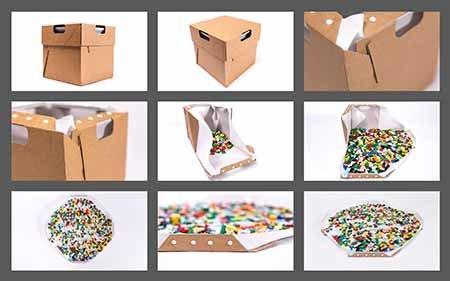 Box4All KARTON Opberg- en sorteer doos