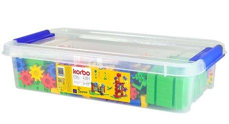 Tandwielen kleurrijk 430-delig STEM - Korbo