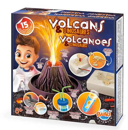 Vulkanen en dinosaurussen 15 experimenten - Buki