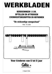 Werkbladen NL Miniland 1026 De wiskundige weegschaal