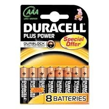 Duracell batterijen Duralock 8-pack AAA
