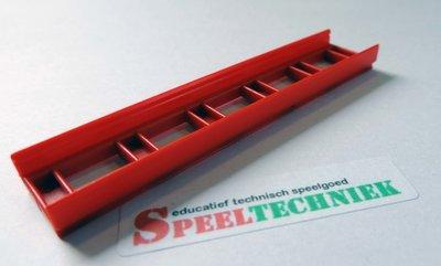 LASiE CLIC onderdeel Strip Rood 8 cm