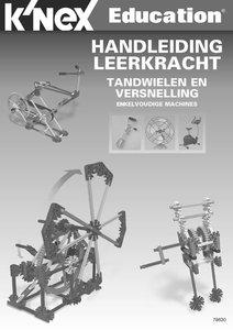 Handleiding KNEX Educatie Tandwielen en Versnelling