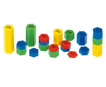 54 stuks Gekleurde gewichten