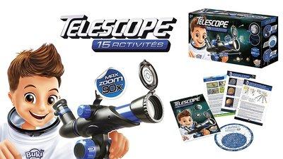 Kleine Telescoop met 15 activiteiten