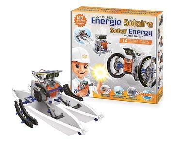 Robot Zonne-Energie Werkplaats