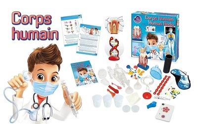 Buki Het menselijk lichaam 12 experimenten