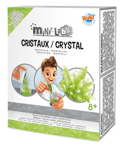 Mini Lab Kristallen (Groen) - Buki