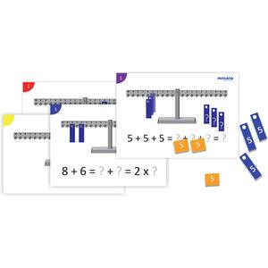 Activiteitenkaarten voor de 1026 De wiskundige weegschaal