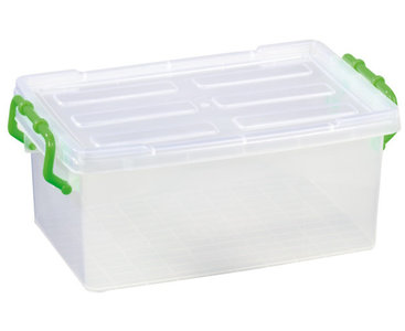Gigo Box met deksel transparant